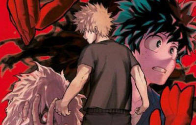 Page a My hero academia tome 10