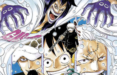 Page e One piece tome 68