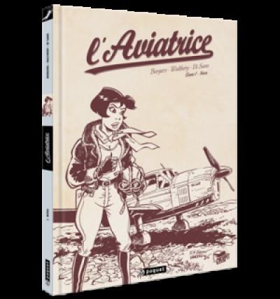 Page s l'aviatrice tome 1 - Nora (crayonnés)