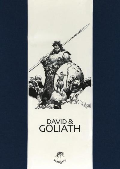 Page d Portfolio Toppi David et Goliath