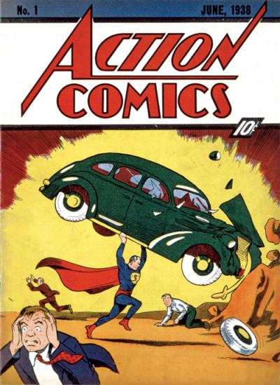 Page 1 DC comics ; le livre poster