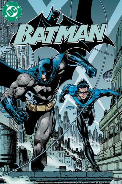Page 0 DC comics ; le livre poster