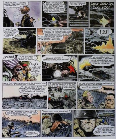 Page 6 Planche originale Le Goulag ; p°17 ; Les Rois du Pétrole