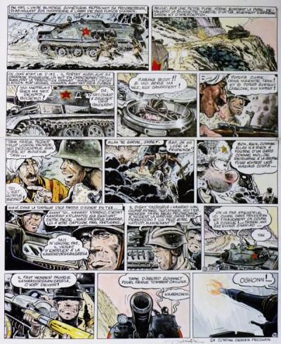 Page 5 Planche originale Le Goulag ; p°39 ; Les Rois du Pétrole