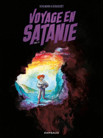 Couverture voyage en Satanie tome 1