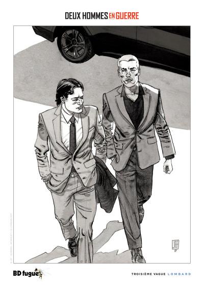 Page 1 Deux hommes en guerre tome 1 + ex-libris offert