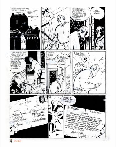 Page 2 JEROME K. JEROME BLOCHE - PASSÉ RECOMPOSÉ - tirage de tête