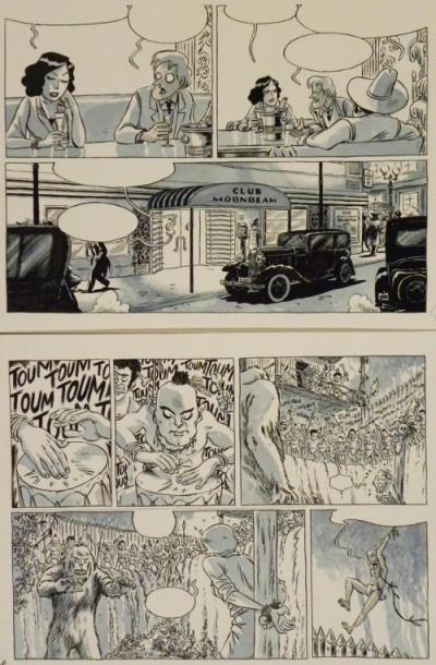 Page 3 Planche originale Johnny Jungle ; p°63