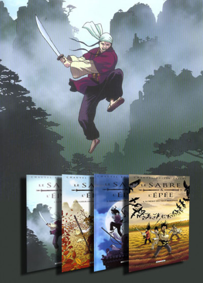 image de Lot - Le sabre et l'épée tomes 1 à 4