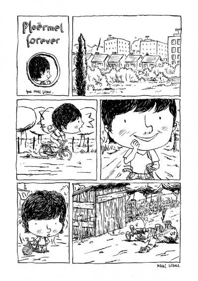 """image de Planche originale """"Ploërmel forever"""" + crayonné"""