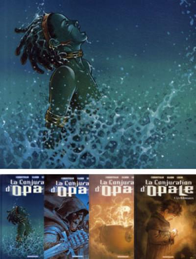 image de La conjuration d'opale tomes 1 à 4