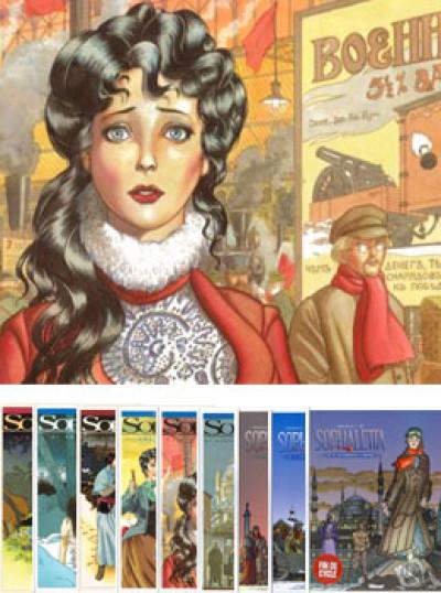 image de Sophaletta lot des 9 tomes