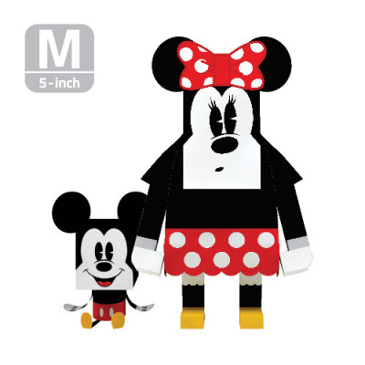 Page n Paper Toys Momot : Minnie et Mickey (M)