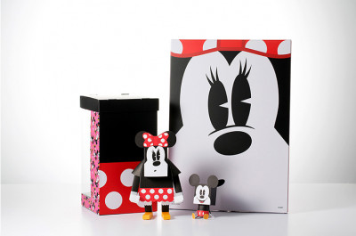Page 4 Paper Toys Momot : Minnie et Mickey (M)