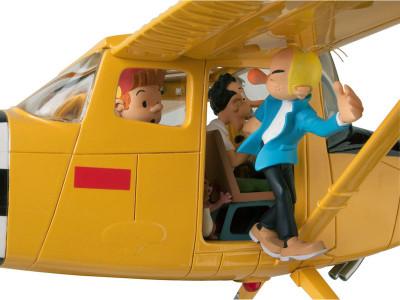 Page 2 Figurine Spirou et Fantasio, Cessna bird dog L19