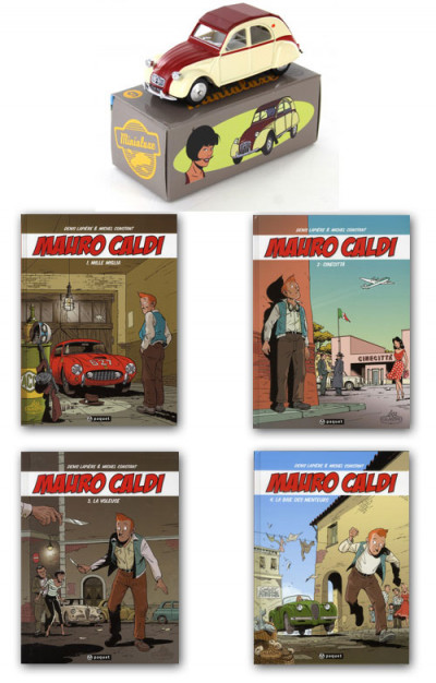 Page 4 Pack Mauro Caldi tomes 1 à 4 + voiture minialuxe offerte