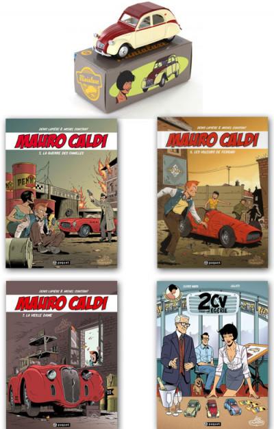 image de Pack Mauro Caldi tomes 5 à 7 + Les enquêtes de Margot tome 3 deluxe + voiture minialuxe offerte