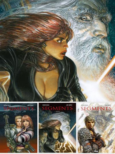 Couverture Segments pack des 3 tomes