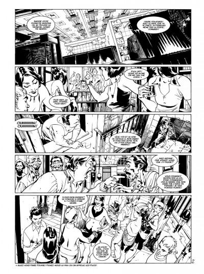Page 0 Tirage de tête Jazz Maynard tome 4 - édition luxe numérotée & signée