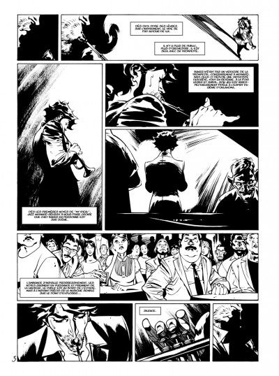 Page 1 Tirage de tête Jazz Maynard tome 4 - édition luxe numérotée & signée