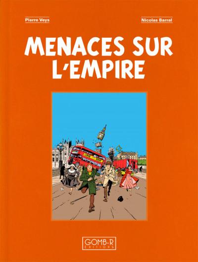 Page 1 Philip & Francis - Menaces sur l'Empire - tirage de Luxe toilé