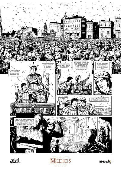 Page 1 Médicis tome 2 + ex-libris offert