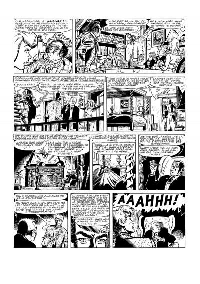 Page 1 Tirage de luxe - Ric Hochet les spectres de la nuit