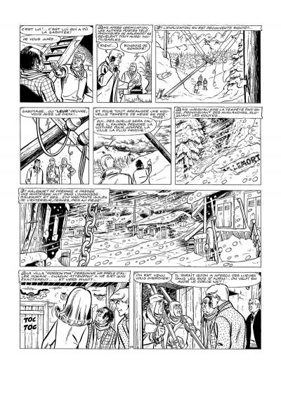 Page 2 Tirage de luxe - Ric Hochet les spectres de la nuit