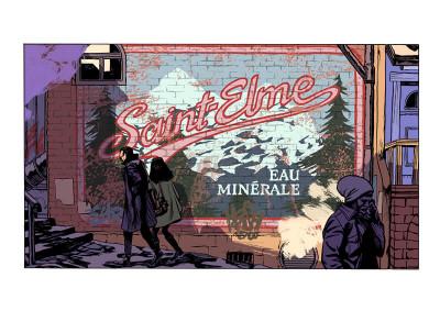 Page s Saint-Elme tome 1 + ex-libris offert