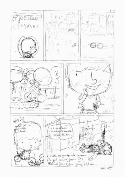 Page 4 Planche originale