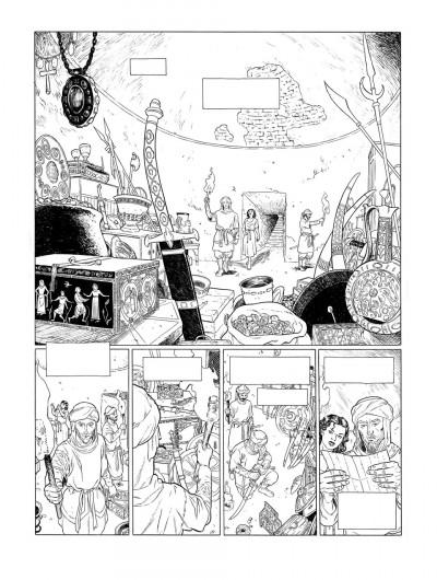 Page 7 Planche originale Sarrasins ! ; page 37