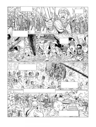 Page 4 Planche originale Sarrasins ! ; page 44