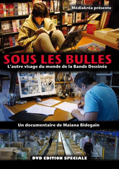 Couverture DVD - Sous les bulles (édition spéciale)