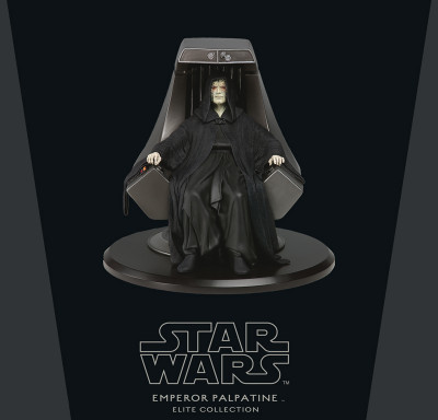 Couverture Figurine Empereur Palpatine - Imperial Throne
