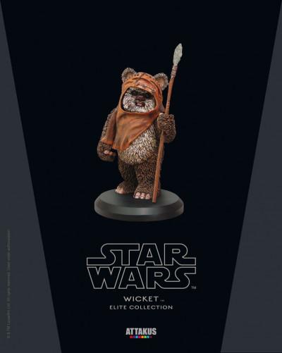 Page l Figurine Ewok en résine
