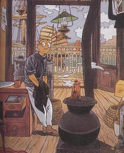 Page h Affiche Théodore Poussin (40 x 49cm) - numérotée et signée