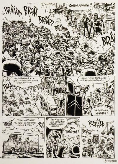 image de Planche originale The Zumbies - tome 2 - p°20
