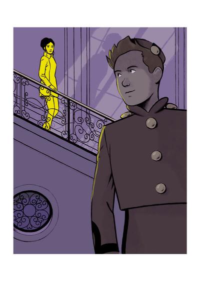 Page 1 Spirou - Pacific palace + ex-libris offert