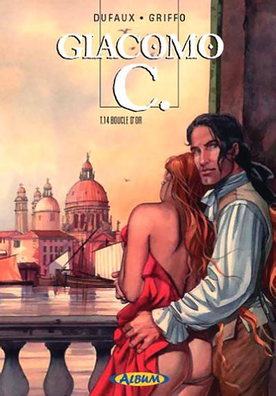 Couverture Giacomo C. - tirage de luxe tome 14