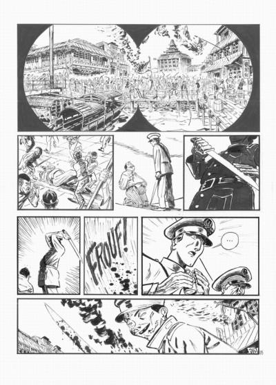 image de Planche originale Le marin, l'actrice et la croisière jaune tome 1 ; page 5