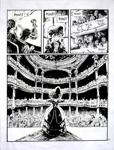 image de Planche originale Le marin, l'actrice et la croisière jaune tome 1 ; page 3