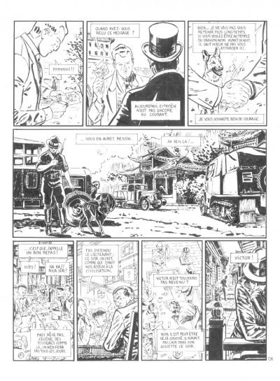 image de Planche originale Le marin, l'actrice et la croisière jaune tome 2 ; page 8