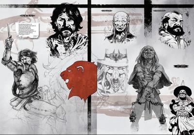 Page 2 Tirage de tête Horacio d'Alba tome 2 - Le roi soldat