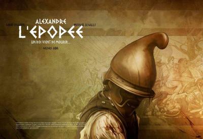 image de Tirage de tête Alexandre - l'épopée tome 1 - un roi vient de mourir