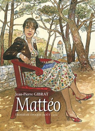 Couverture Mattéo tome 3 - Tirage de tête Bruno Graff