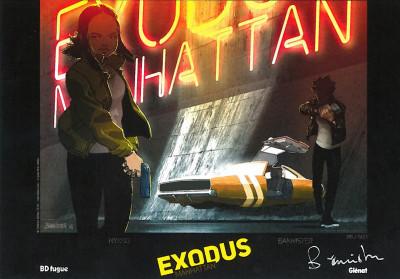 Page 1 Exodus Manhattan tome 1 + ex-libris offert
