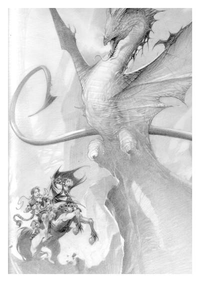 Page 0 La geste des chevaliers dragons tome 27 + ex-libris offert