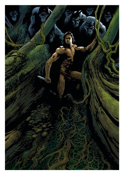 Page r Tarzan tome 1 + ex-libris offert