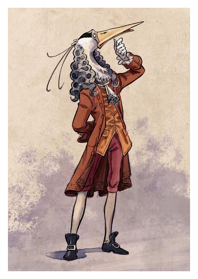 Page n Voltaire & Newton tome 1 + ex-libris offert