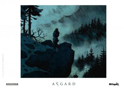 Page 1 Tirage de tête Asgard tome 1 - Pied de fer